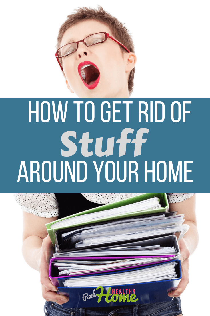 how to get rid of stuff