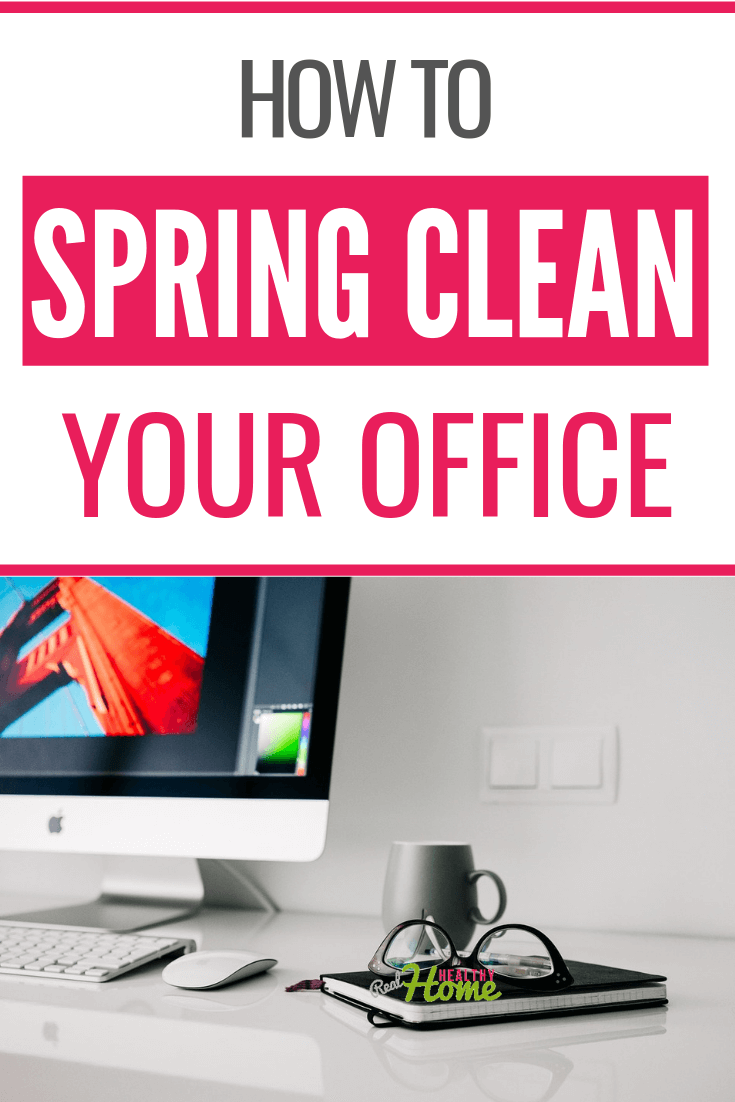 spring clean office